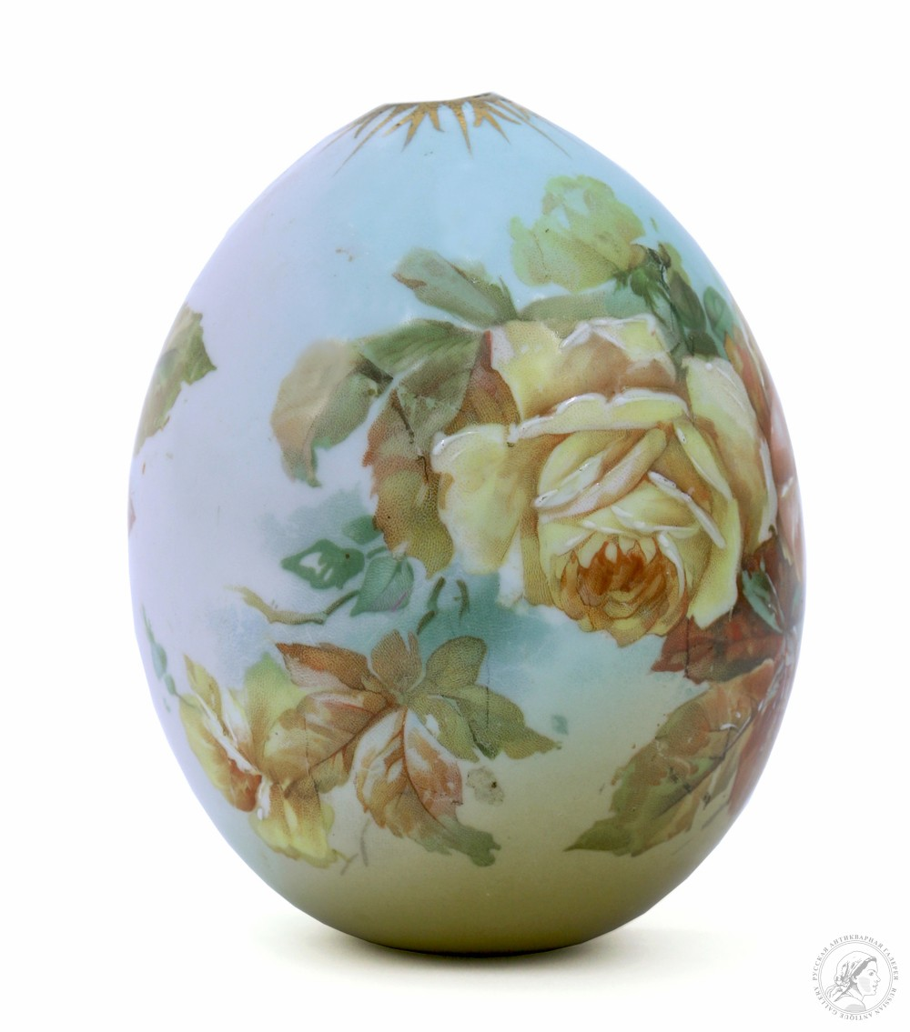 Пасхальное яйцо «Чайные розы»