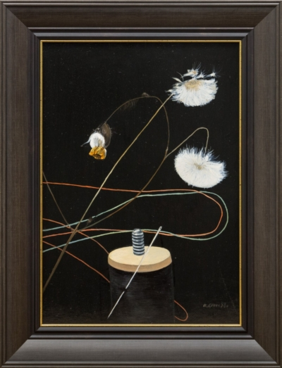 Картина «Натюрморт с катушкой ниток»