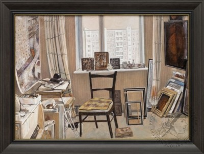 Картина «В мастерской художника»