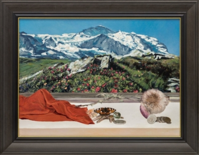 Картина «Вид на горы»