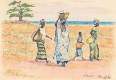 Пастель «Сенегал»