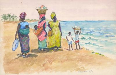 Емельянова. Сенегал. Женщины у моря