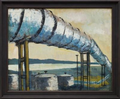 Рисунок «Нефтепровод»
