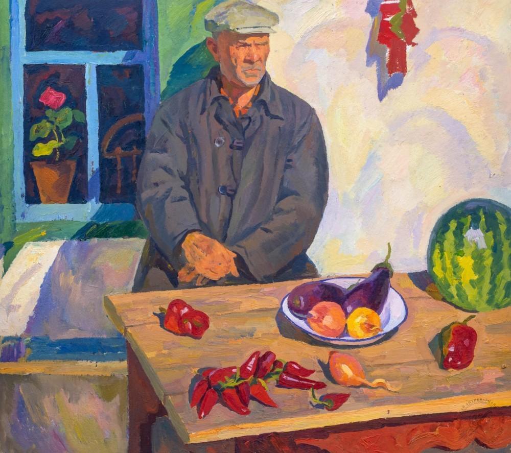 Картина «Дядечка с арбузом»