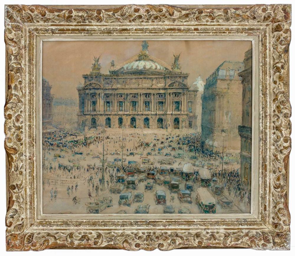 Картина «Опера Гранд-Опера в Париже»