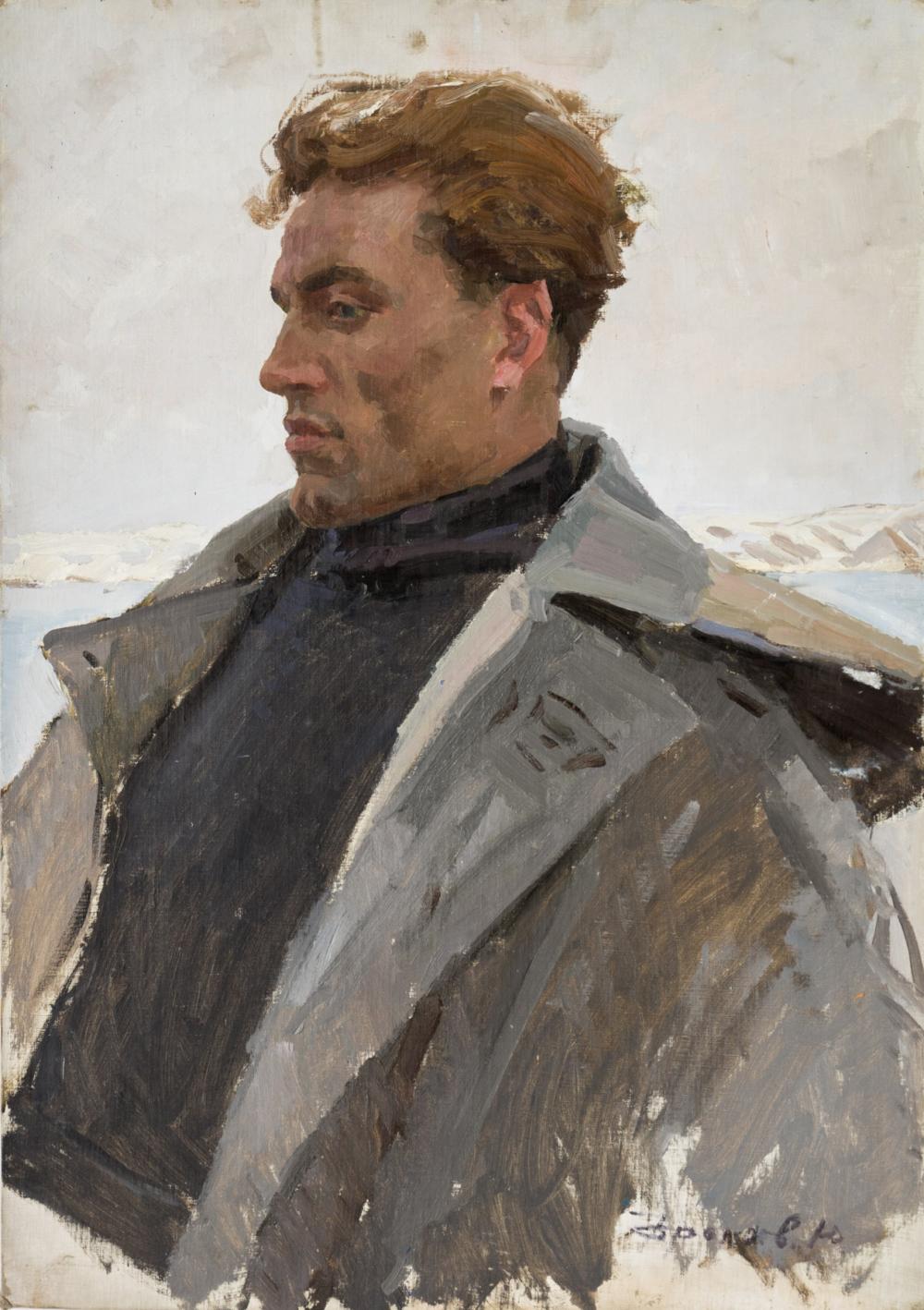 Картина «Моторист Пичужкин»