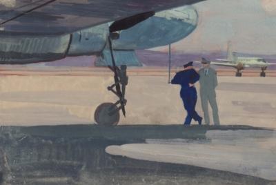 Рисунок «Пилоты Аэрофлота»