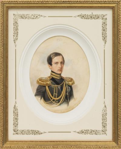 Рисунок «Портрет Великого князя Константина Николаевича»