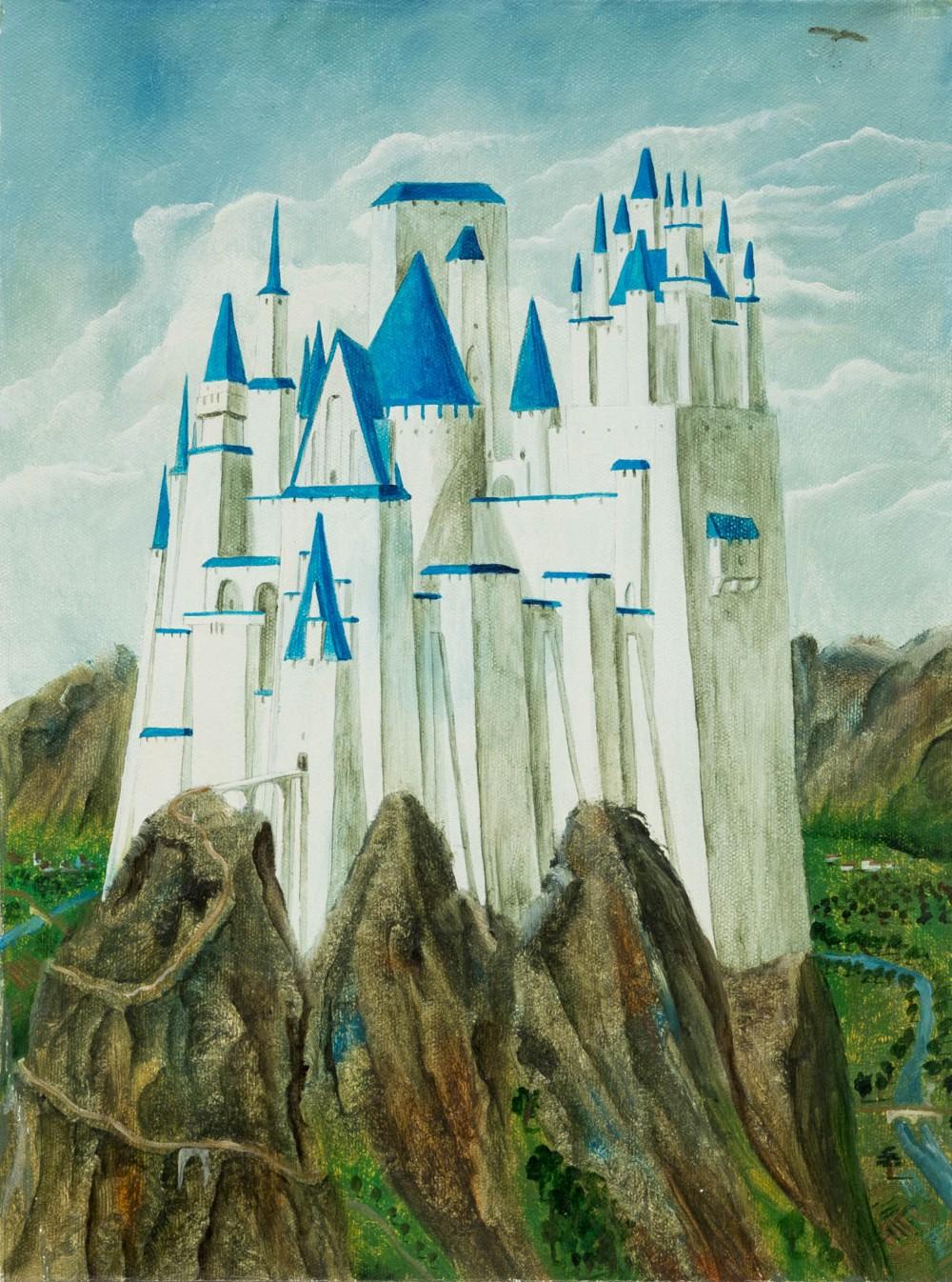 Картина «Замок»