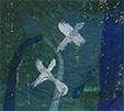 Картина «Дом и цветок»
