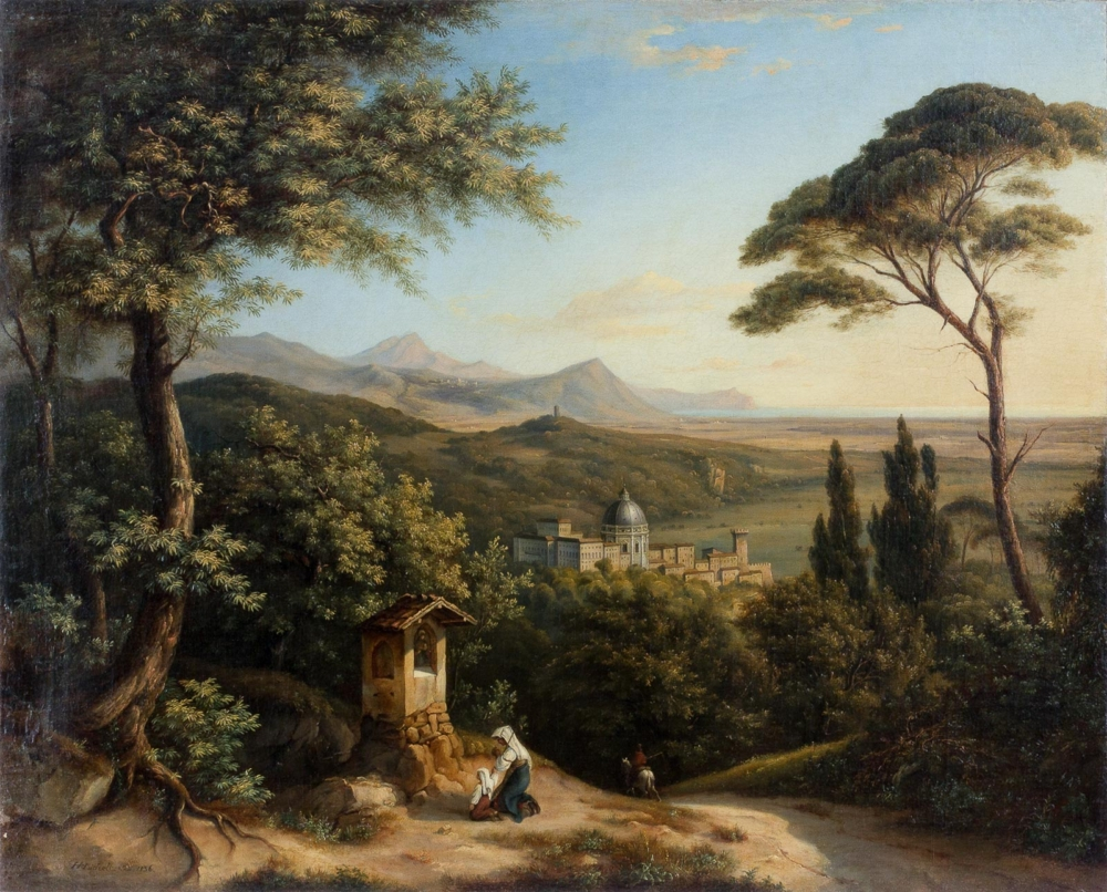 Картина «Итальянский пейзаж»