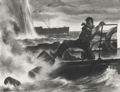 Рисунок «Герой Советского Союза Григорий Куропатников»