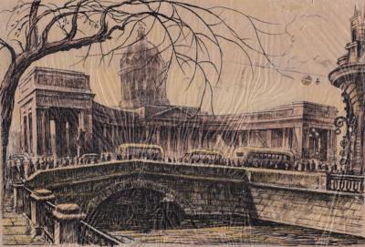 Рисунок «Казанский собор»