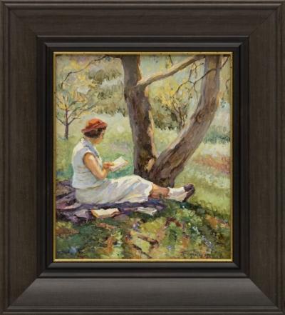 Картина «Чтение под деревом»