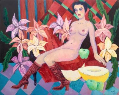 Картина «Вторая дама»