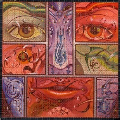 Картина «Абстрактный портрет»