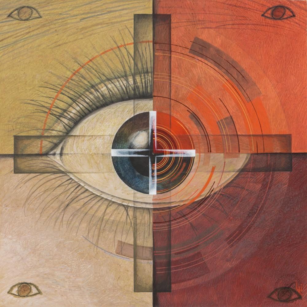 Картина «Всевидящие око»