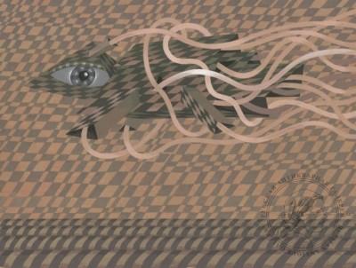 Картина «Рыба в полете»