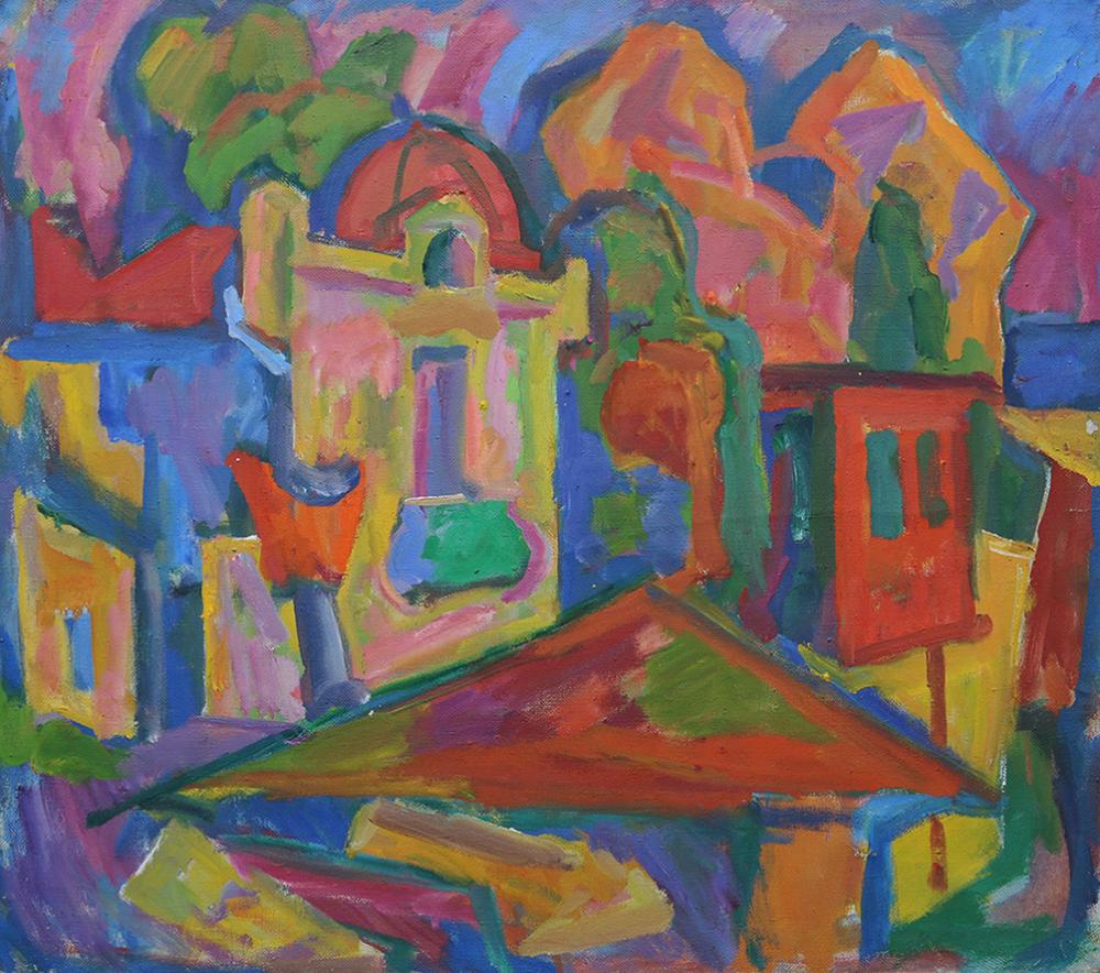 Картина «Гурзуф. Мечеть»