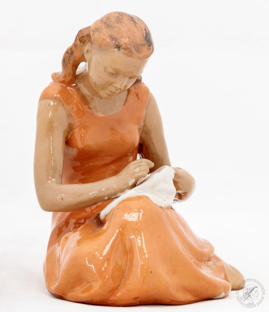 Фарфоровые статуэтки Гжель