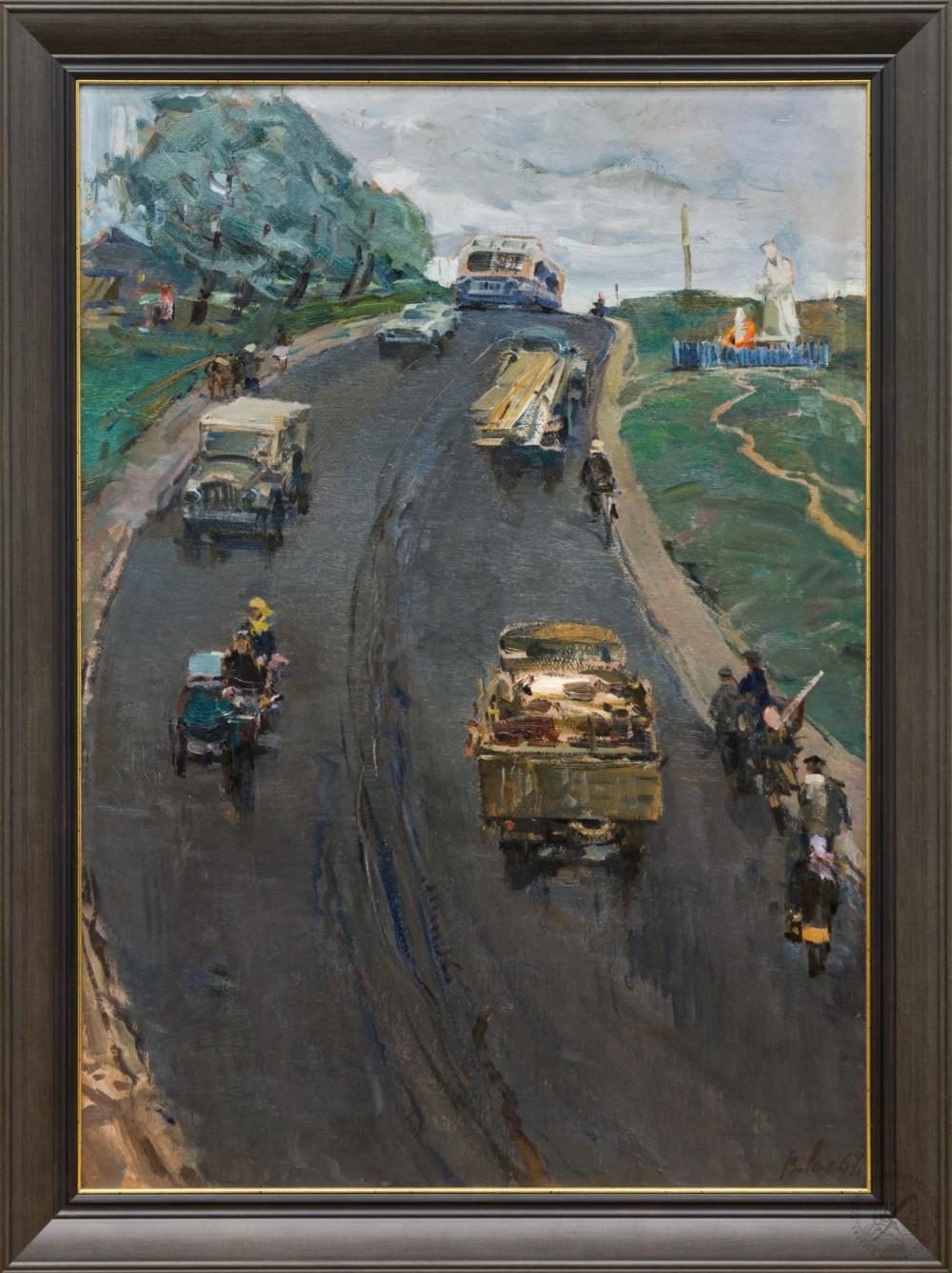 Картина «На Волоколамском направлении»