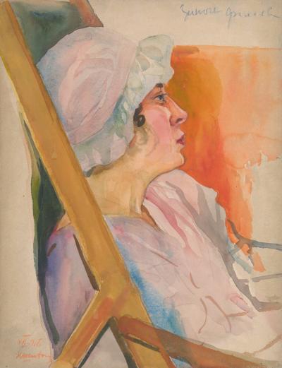 Рисунок «Портрет девушки в чепце»