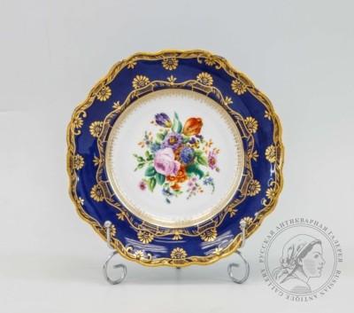 Тарелка декоративная «Букет»