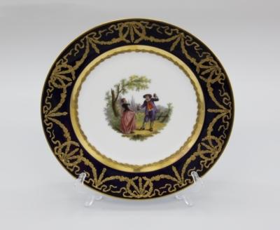 Декоративная тарелка «Галантная сцена»
