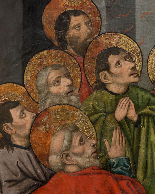 Картина «Сошествие святого духа на апостолов»