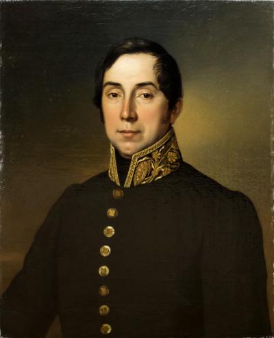 Портрет «Штаб — офицера Министерства Внутренних Дел по Петербургской губернии».