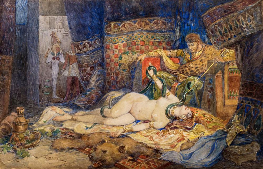 Картина «В древнем Египте»