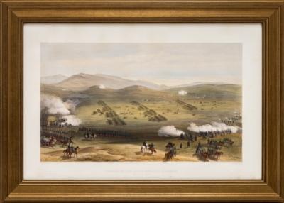 Литография «Атака легкой кавалерии»