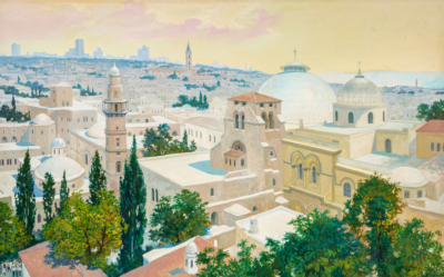 Иерусалим. Старый город. Серебрянский