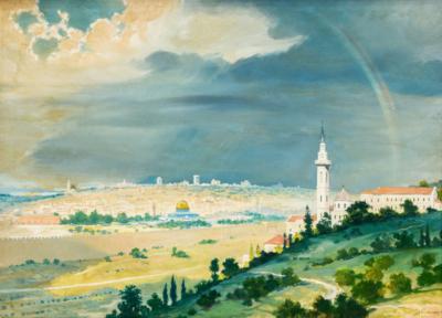 Картина «Вид на Иерусалим»