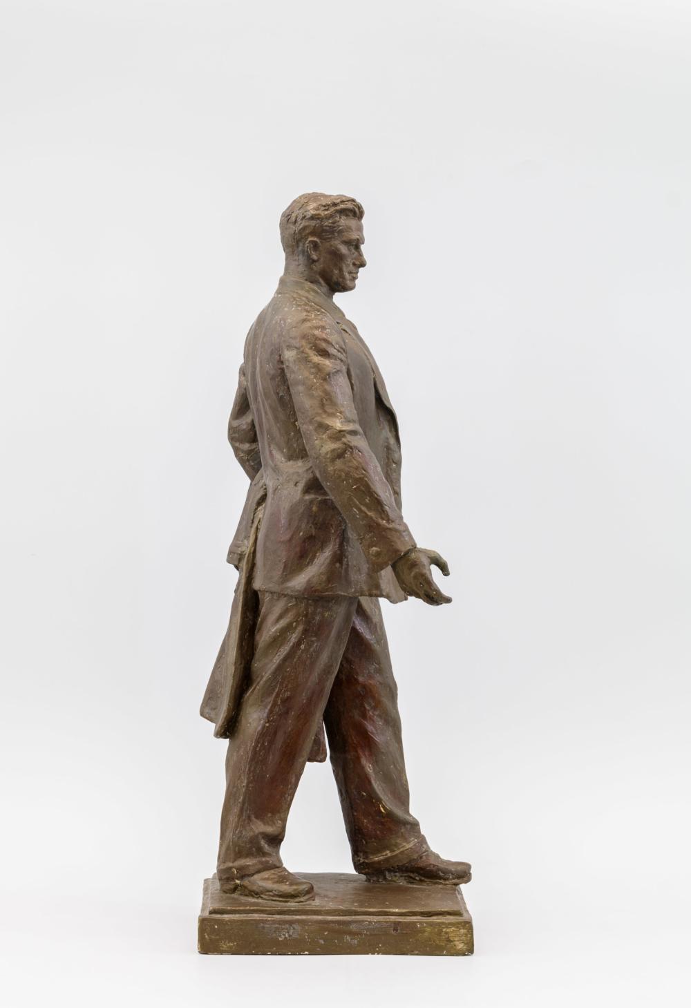 Владимир Маяковский. Эскиз к проекту памятника для Москвы. 1953-1956