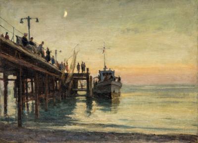 Картина «Вечер на море»