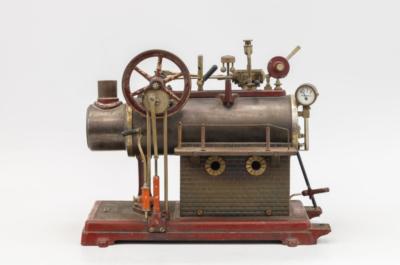 Модель парового двигателя
