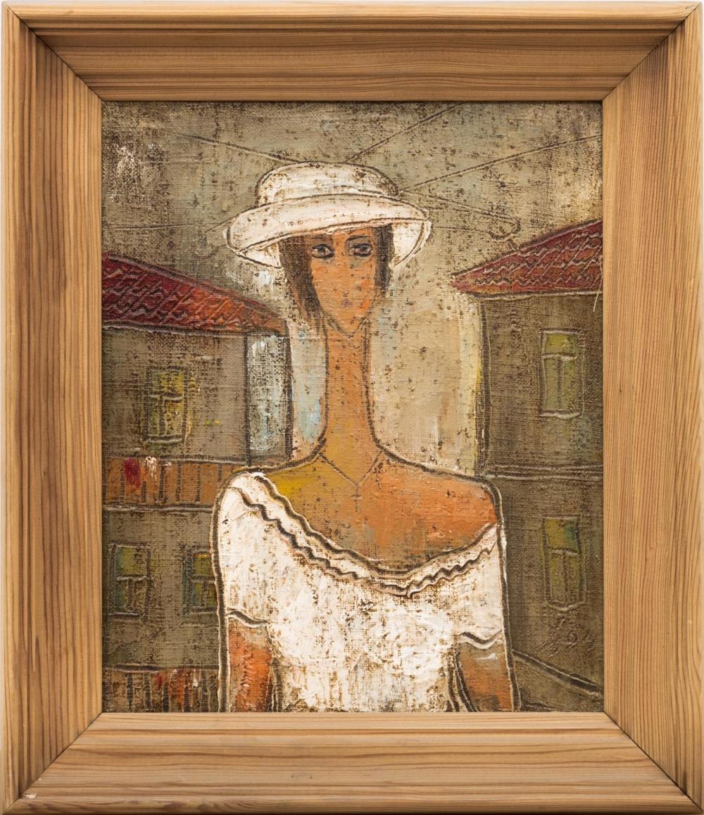 Картина «Девушка в белом»