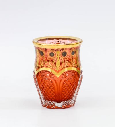 стакан с рубиновым подцветом ИСЗ
