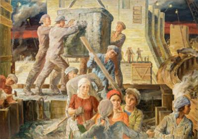 Комсомол на стройках первой пятилетки