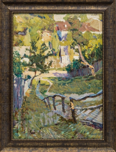 Картина «Август в Горячем Ключе»