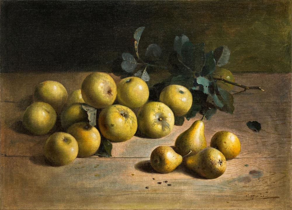 Картина «Яблоки и груши»