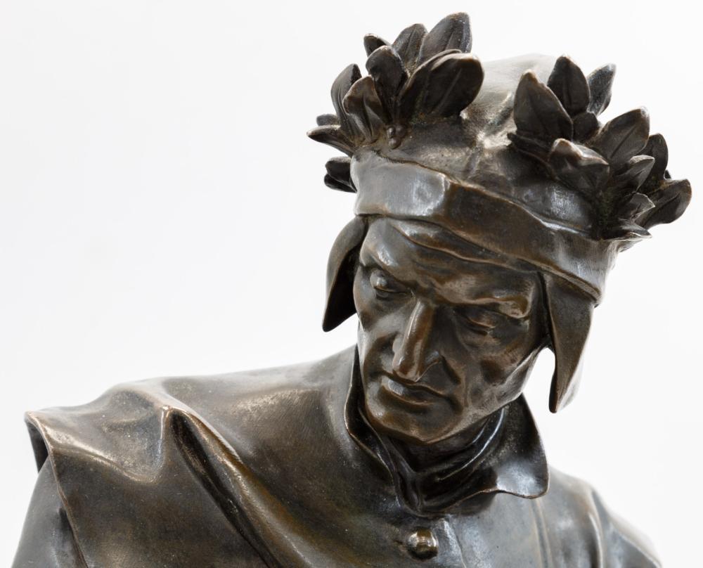 Скульптура «Данте Алигьери»