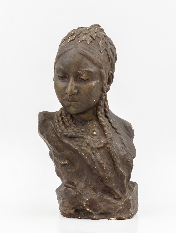 Скульптурный портрет «Туркменка»