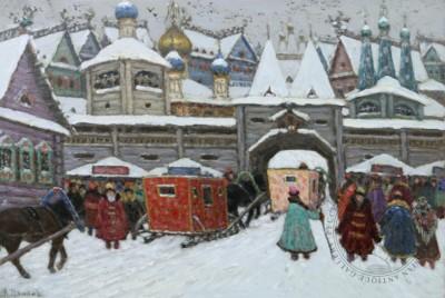 Картина Старая Москва ХVIII века