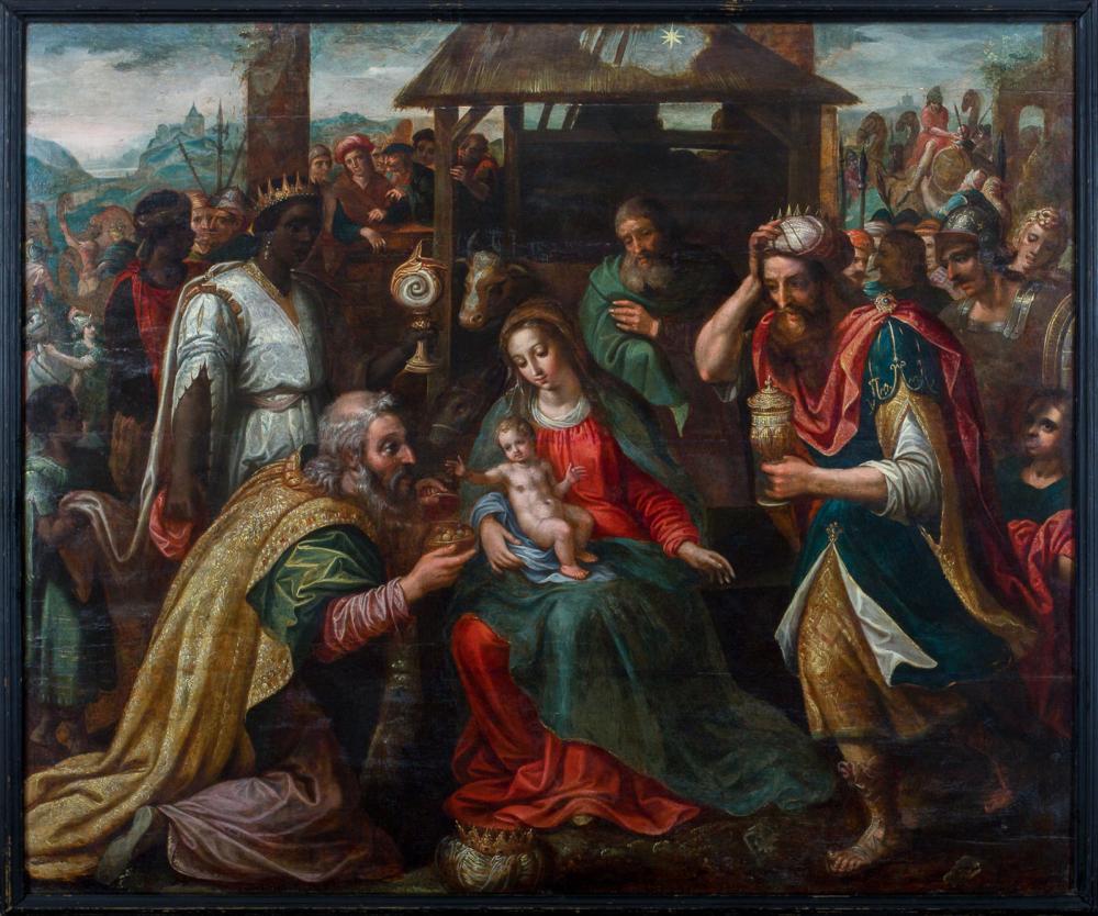 Картина «Поклонение волхвов»