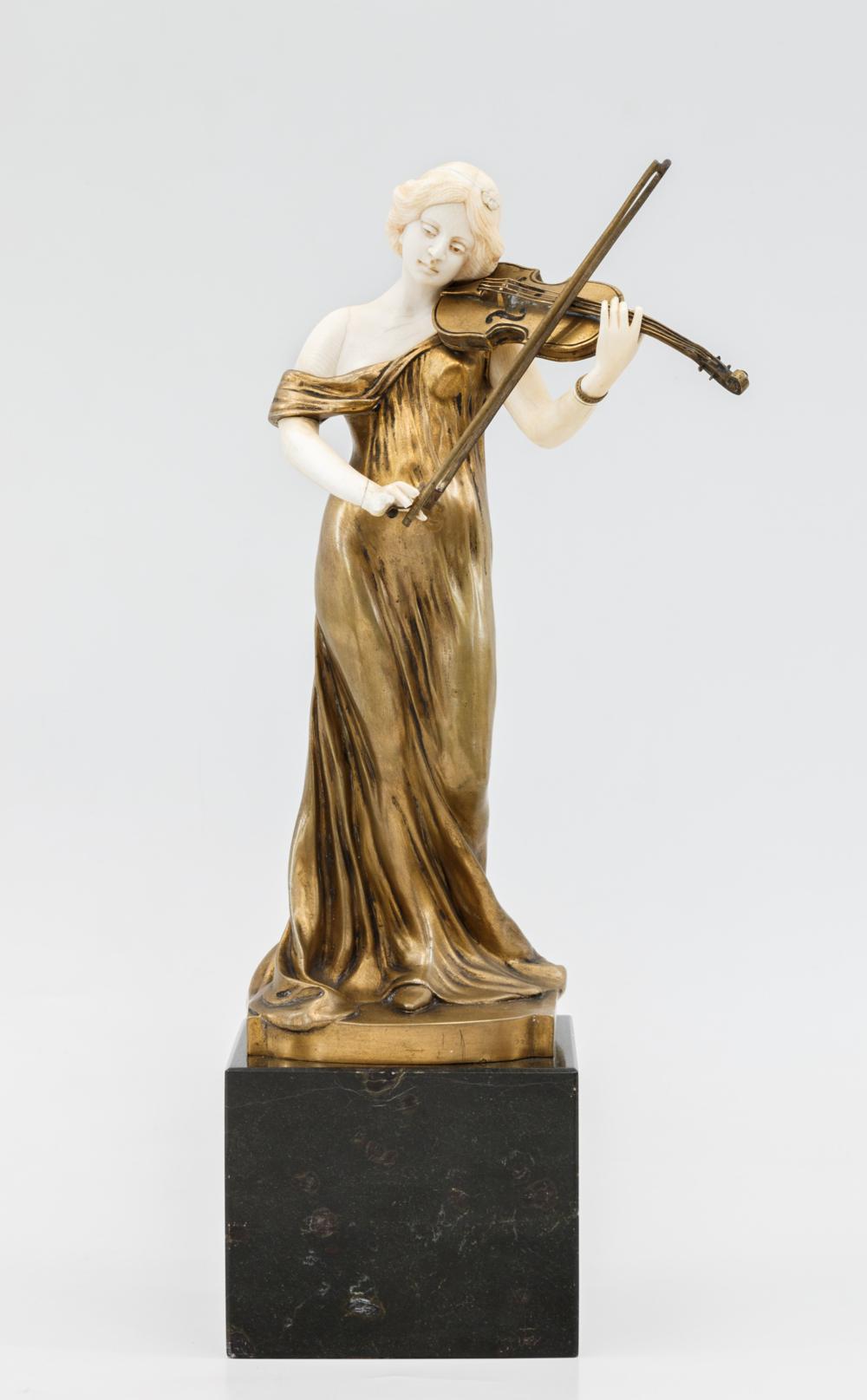 Скульптура «Аллегория музыки»