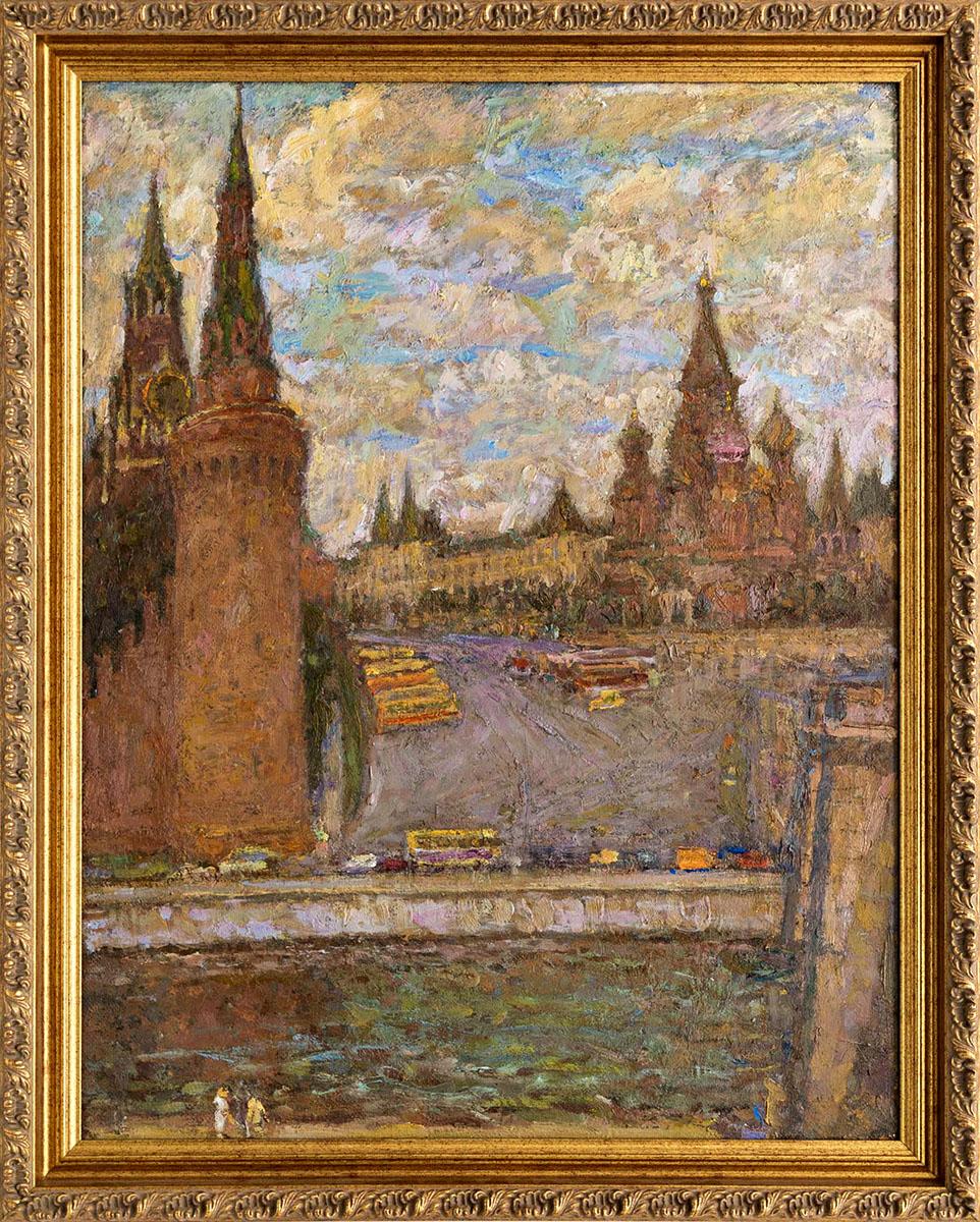 Картина «Москворецкая башня»