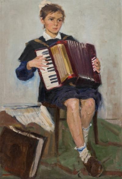 Картина «Первые аккорды»