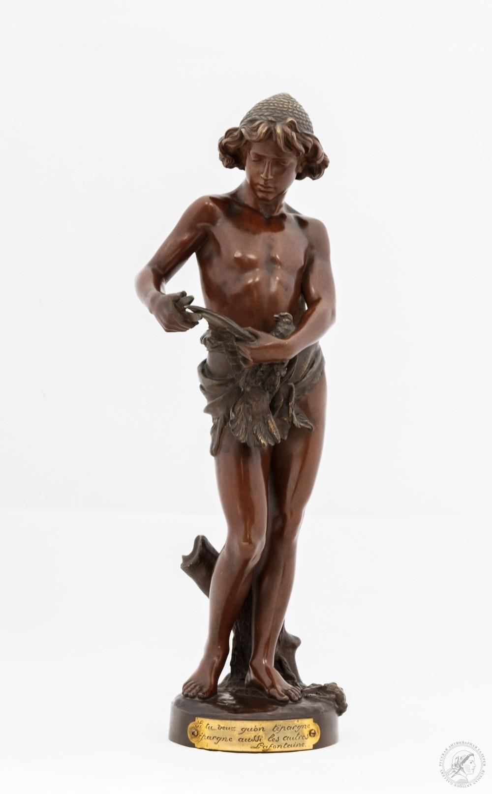 Скульптура «Птицелов»